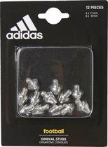 Adidas ijzeren noppen 8 x 8mm + 4 x 11mm