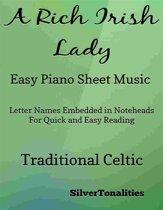 A Rich Irish Lady Easy Piano Sheet Music