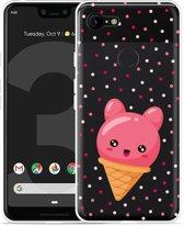 Google Pixel 3 Hoesje Ice cone