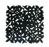 Make My Day Placemat - 31.5 x 31.5 cm -  Zwart