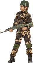 Leger & Oorlog Kostuum   Desert Storm Commando   Jongen   Maat 128   Carnaval kostuum   Verkleedkleding
