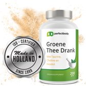 Groene Thee Extract Poeder - 200 Gram - PerfectBody.nl