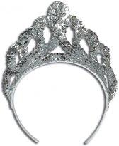 Luxe zilveren tiara