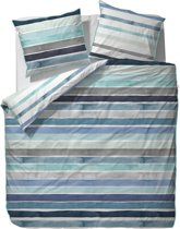 ESPRIT Iva - dekbedovertrek - lits jumeaux - 240 x 220 - Blauw