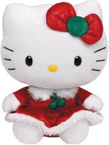 Hello Kitty Christmas Pluchie 15cm