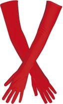 Lange Handschoenen Stretch Rood (60 cm)