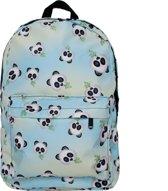 Emoji rugzak panda  - 42 cm hoog - Blauw