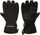 Zwarte wintersport handschoenen Starling met Thinsulate vulling voor volwassenen XL (10)
