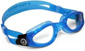 Aqua Sphere Kaiman - Zwembril - Transculent Blue - Clear Lens