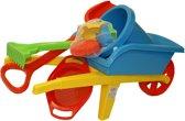 Kruiwagen met zand speelgoed, 9 delig