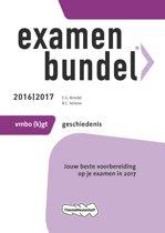 Omslag van 'Examenbundel vmbo-(k)gt Geschiedenis 2016/2017'