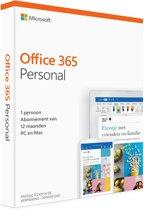 Microsoft Office 365 Personal - 1 jaar (code in do