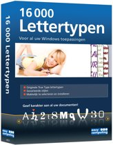 Easy Computing 16.000 Lettertypen