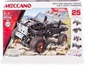 Meccano 4x4 Truck - 25 Modellen