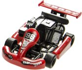 LG-Imports raceauto rood 9 cm