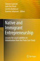 Native and Immigrant Entrepreneurship