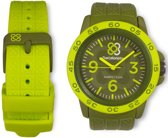 Barcelonetas fun green W02GR Unisex Quartz horloge