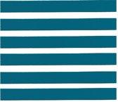 Blauwe magnetische strips 5mm x 300mm, 12 stuks