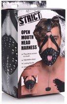 Open Mond Masker Met Stop