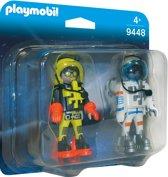PLAYMOBIL DuoPack Ruimtereizigers - 9448