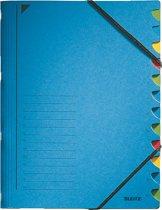 Leitz Bureau Sorteermap Karton - 12-tabs - A4 - Blauw