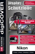 DigiCover B3665 schermbeschermer Camera Nikon 2 stuk(s)