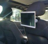 Tablet auto dvd houder Porsche cayenne iPad / Samsung