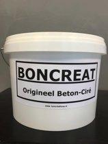 Boncreat kan en klaar beton ciré badkamer pakket