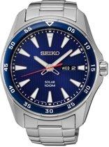 Seiko SNE391P1 horloge heren - zilver - edelstaal