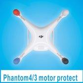 4 stuk Motor Protector Cap Cover stofdicht DJI Phantom 4 3