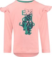 NOP Meisjes T-shirt met lange mouwen Baltimore - Peach Bud - Maat 140