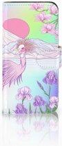 HTC One Mini 2 Uniek Boekhoesje Bird
