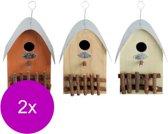 Best For Birds Nestkast Huisje - Broeden - 2 x 0.6 g Assorti  stuks