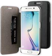 BeHello Book Case voor Samsung Galaxy S6 Edge - Zwart
