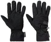 Jack Wolfskin Stormlock Highloft Glove Unisex Handschoenen - Black - Maat M