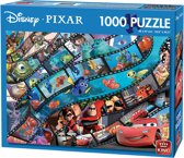 Disney Puzzel 1000 Stukjes - Pixar Movie Magic - Legpuzzel (68 x 49 cm)