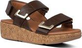 Fitflop - Damesschoenen - Remi Adjustable Back-Strap Sandals - bruin - maat 39