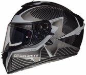 Helm MT Blade II sv Blaster mat grijs L