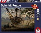 Schmidt Puzzel - Schip voor anker - 1000 Stukjes