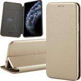 iPhone 11 Pro Max Hoesje - Book Case Flip Wallet - iCall - Goud
