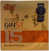 ILHWA GINST15 Korean Ginseng Soft Capsules - 60 stuks