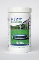 Aqua Excellent All-in-one water onderhoudsproduct navulverpakking voor opzetbaden