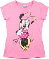 Disney-Minnie-T-shirt-met-korte-mouw-fuchsia-maat-128