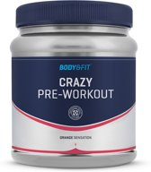 Body & Fit Crazy Pre-Workout - 407 gram - Orange Sensation