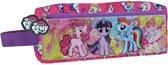 My little Pony - Etui dubbele Rits - 20 cm - Roze