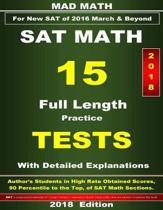 2018 New SAT Math 15 Tests