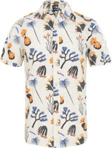 The North Face S/S Baytrail Shirt Heren - Citrine Yellow Joshua Tree Print