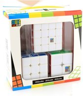 Speed Cube - 2x2, 3x3, 4x4 - Rubik - 3 In 1 Kubus Set