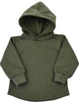 hoodie - khaki green - R Rebels
