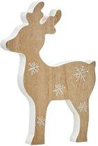 Kerstdecoraties - Hert Bruin - L14xb2xh20cm